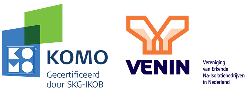 Logo's van KOMO en VENIN