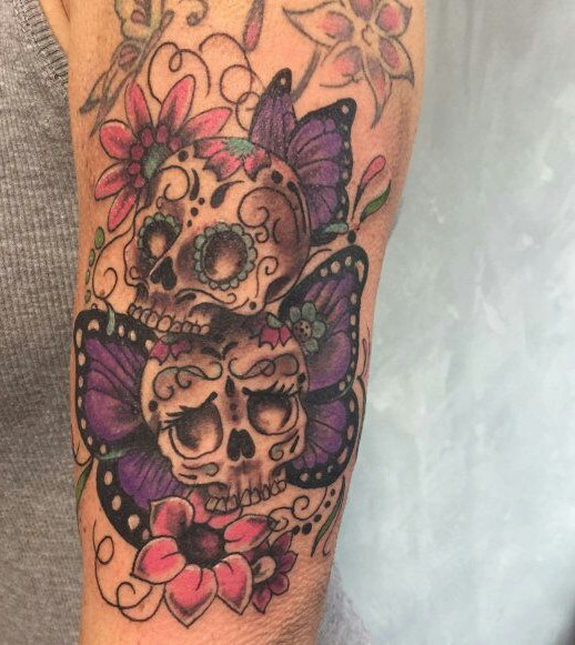 By Sabine - Sugar Skulls Color
