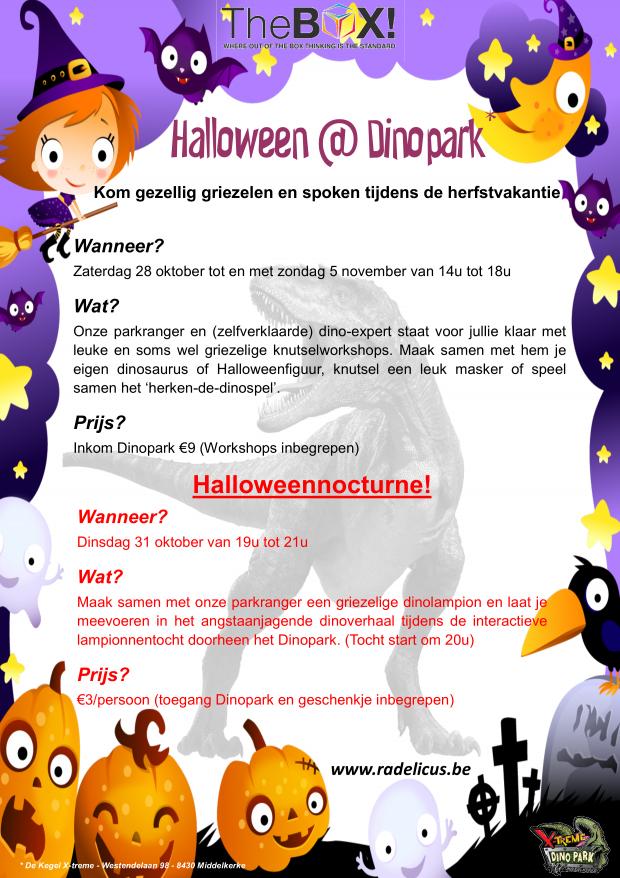 Affiche Halloween @ Dinopark