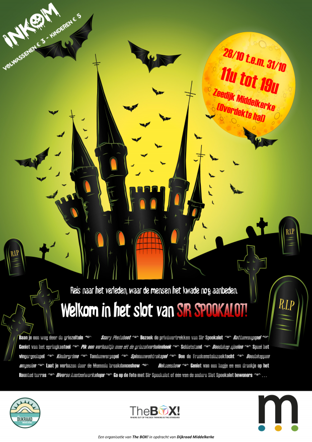 Halloween in Middelkerke 2017