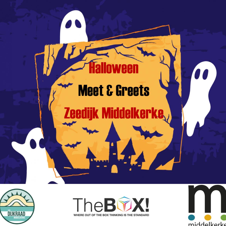 Affiche meet en greets Halloween Middelkerke 2017