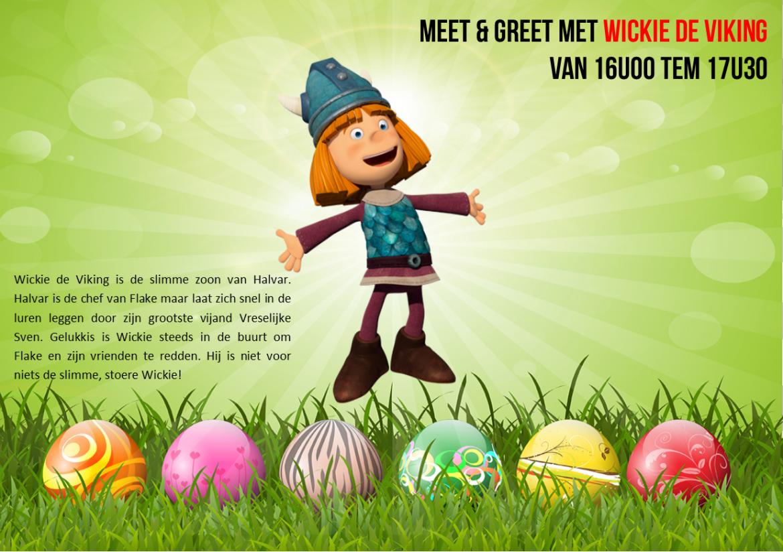 Meet & Greet Wickie de Viking