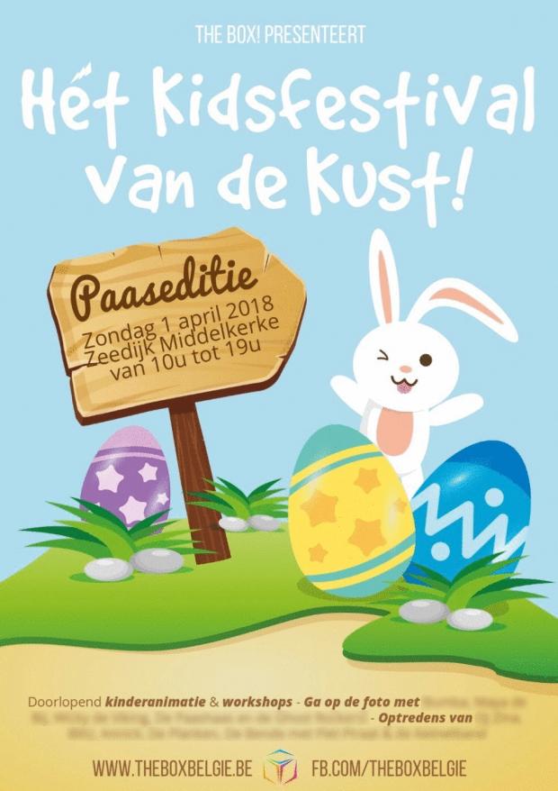 Hét Kidsfestival van de Kust - Paaseditie 2018